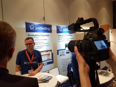 Michael Schäfer, der Geschäftsführer der justSelling GmbH, ist ein gefragter Redner und Interviewpartner.