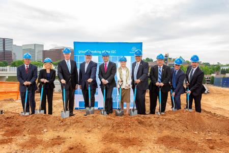 Spatenstich in Atlanta: thyssenkrupp setzt mit Baubeginn für höchsten Aufzugstestturm in den USA neue Maßstäbe