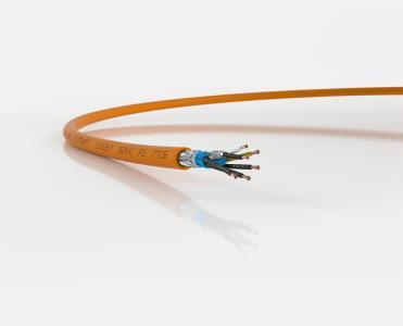 ÖLFLEX SERVO FD 7TCE ist eine Leitung für Schaltschrank, Pritsche und Schleppkette (Quelle: LAPP)