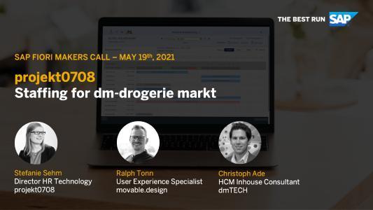 Einladung zum Fiori Makers Call