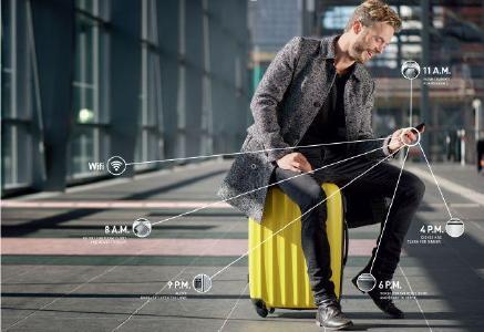 Die volle Kontrolle über das Zuhause – auch unterwegs mit Grundig HomeWhiz (© Grundig Intermedia GmbH)