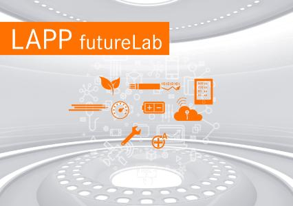 In the futureLab at SPS trade fair LAPP will provide insights into the future of connection technology