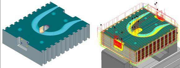 hyperMILL® Automation Center Advanced: automatisch vom CAD bis zum NC-Programm