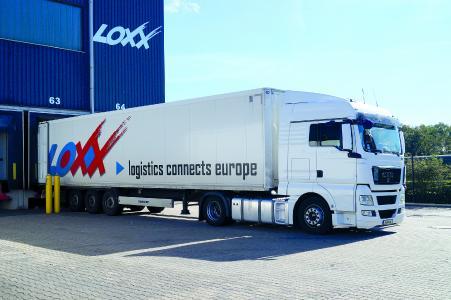 LOXX Lkw am Logistikzentrum Gelsenkirchen