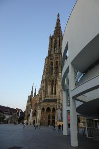 The conference venue is located next to the Muenster in the heart of Ulm