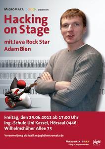 Hacking on Stage mit Java Rock Star Adam Bien