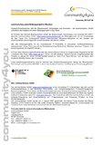 [PDF] Pressemitteilung: community4you plant Bildungsprojekt in Brasilien