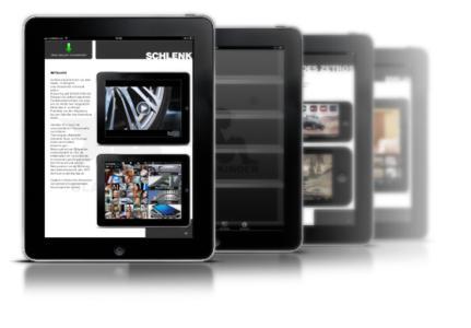 PDF Activator - Anwendungsbeispiel (iPad)