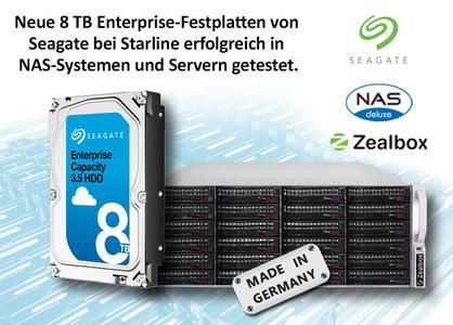Seagate 8 TB EntrepriseFestplatten