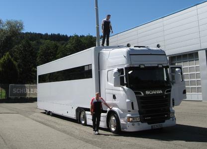 Schuler Race Truck Porsche Motorsport LMP1 Motorsport