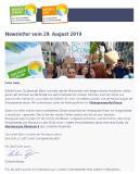 Newsletter August 2019 erschienen