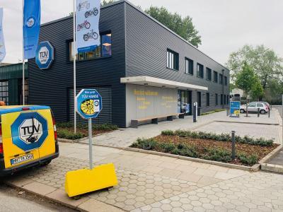 Die neue TÜV HANSE-Zentrale am Brackdamm 16