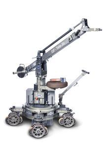 Der GF-Tele Jib wurde entwickelt, um die Nachfrage nach einem leichten, stabilen und in der Länge variablen Jib-Arm zu bedienen. Die Jib-Arm-Komponenten sind aus Aluminium gefertigt und verfügen über einen sehr harten und langlebigen Oberflächenschutz der Bauteile(HART-COAT®)