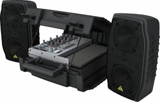 New Ultra-Compact EPA150 Portable PA System from BEHRINGER