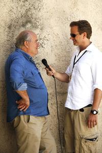 Interview FotoTV mit Peter Lindbergh. Foto:Dierk Clees