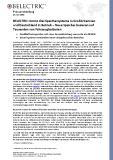 [PDF] Pressemitteilung: BELECTRIC nimmt drei Speichersysteme in Großbritannien und Deutschland in Betrieb - Neue Speicher basieren auf Tausenden von Fahrzeugbatterien