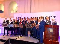 Verleihung der EGovernment Awards 2018  in Berlin. BWI mit Platin-Award ausgezeichnet.