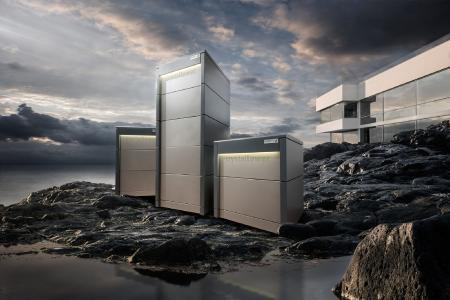 CrystalTower Stromspeicher am Meer, Imagefoto ©Powertrust GmbH