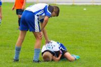 Verletzung im Kontaktsport
