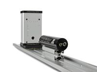 New Laser Alignment System with an Electronic Detector