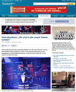 """""""The Voice of Germany"""" Exklusiver Blog mit The BossHoss"""