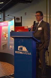 Als Hausherr begrüßte MEG-Vorstand Frank-A. Kühnel die Teilnehmer zum 4. Tag der Wohnungswirtschaft / Fotos: Achim Zielke