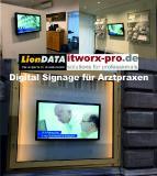 Digital Signage Lösungen für Arztpraxen