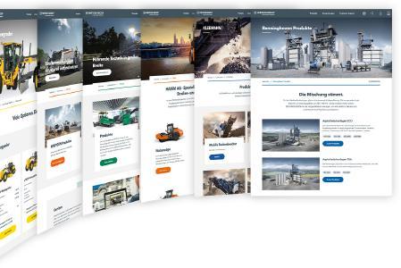 globales Website-System