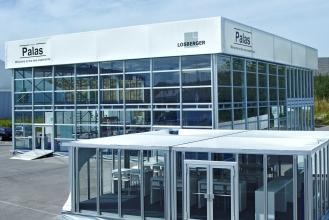 Palas und Cyclone: Die neuesten Produkte aus dem Hause Losberger im attraktiven und modernen Design.