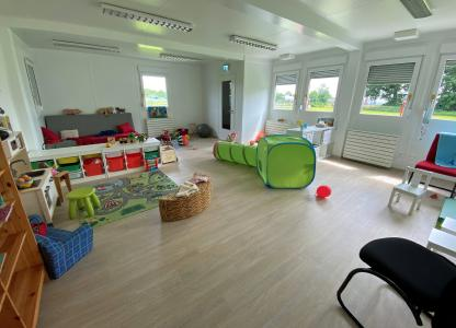 Helle und liebevoll eingerichtete Räumlichkeiten erwarten die Kleinen. Bildquelle: Remmers, Löningen