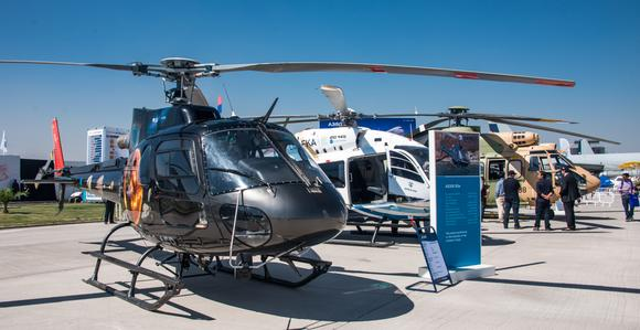 With six deals locked in, FIDAE confirms Airbus Helicopters' leading presence in Latin America (© Copyright Airbus Helicopters/Cristobal Correa-2014)