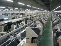 Alle hochmodernen Anlagen des Unternehmens sind im Hinblick auf die breite Produktionspalette von mehr als 500 Artikeln auf größtmögliche Effizienz ausgerichtet, Foto: Textil Santanderina, S.A.