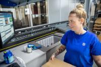 Für die Realisierung einer Omnichannel-Lösung im Merchandising-Umfeld setzt ITG am Standort Schwaig ein skalierbares AutoStore Warenlager von AM-Automation ein.  Bild: ITG GmbH