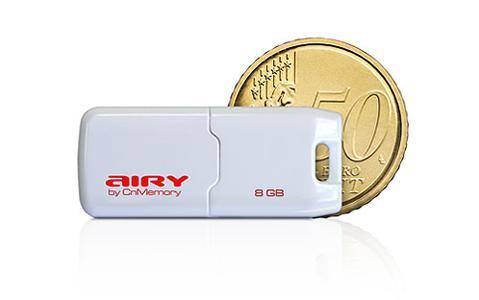 airy weiss 2 mit 50 Cent Münze