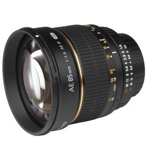 walimex pro AE 85/1,4 IF Objektiv UMC Nikon AF/MF