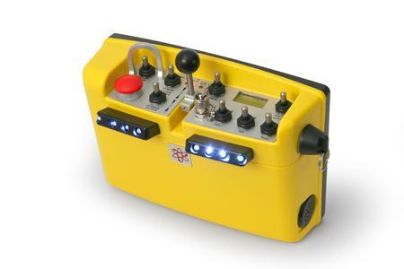 Radio remote control system TH-EC/LO (Source: Cattron-Theimeg)