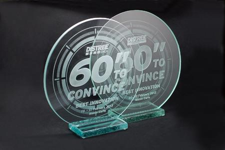 2 prizes of distree 60  to convince