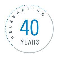 Jubliäum: 40 Jahre Dymax.  Foto: Dymax