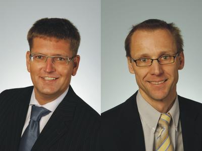 CEO Holger Volpert (46) and COO Martin Rambacher (44) manage the renamed KBA-MetroPrint AG