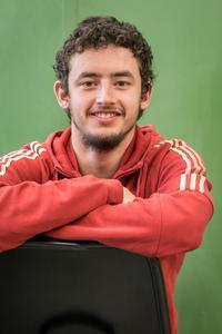Tristan Eberle im Portrait.