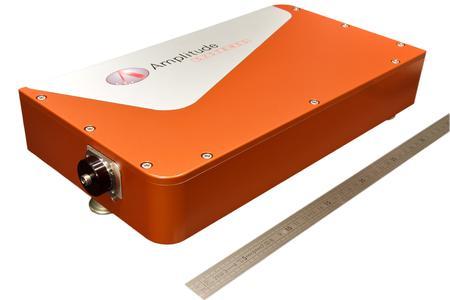 Luftgekühlter diodengepumpter Kurzpulslaser mit passivem Mode-Locker