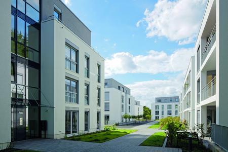 Bensberg-Residenz im Süden von Bergisch Gladbach: 59 zentrumsnahe, komfortable Eigentumswohnungen zwischen 76 m² und 174 m² Größe