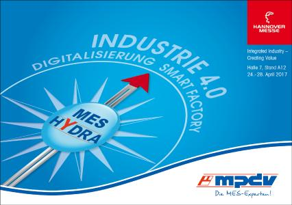 MPDV präsentiert in Hannover neben Neuerungen zu MES HYDRA die Fertigungssteuerung der Zukunft