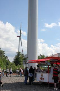 Opening Ceremony at Wind Farm Felsberg/Markwald