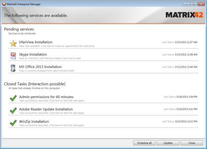 Enterprise Manager Tasks