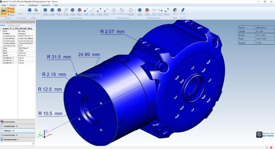 Glovius CAD-Viewer: Glovius ist jetzt in attraktiven Einzelmodulen erhältlich