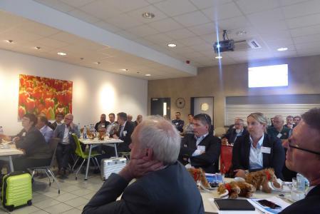 Mitglieder der FG-Polyurethane des FSK e.V. auf der 56. Sitzung des Fachgremiums bei Dow Deutschland Anlagengesellschaft mbH im Werk Ahlen