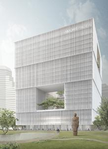 TWIN elevators in Asia / (c) David Chipperfield Architects