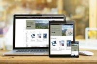 Der Onlineshop von ONLINEPRINTERS wurde einem ganzheitlichen Redesign unterzogen. Dabei wurde auch das Template verändert. Nun können sich Kunden auch via Smartphones und Tablets über die mehr als 5.000 Druckprodukte informieren. Im Onlinedruck behält die Desktop-Variante vor allem für Bestellungen ihre Bedeutung, Copyright: ONLINEPRINTERS GmbH
