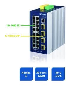 Spectra IGS-6325 16T4S 20 Port Switch